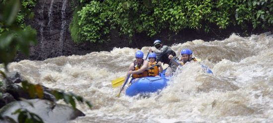 Whitewater Rafting Balsa River