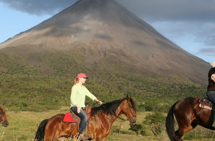 Horseback Riding to Arenal Volcano