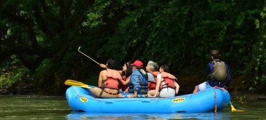 Safari Float on Peñas Blancas River